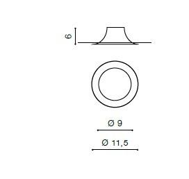 Remi GM2116 WH Oprawa pod zabudowę Azzardo