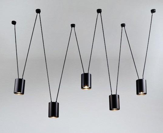 Shilo Viwin 9023 czarna lampa wisząca