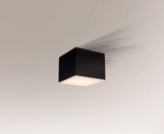 Suwa 1175 Shilo Czarny Lampa sufitowa