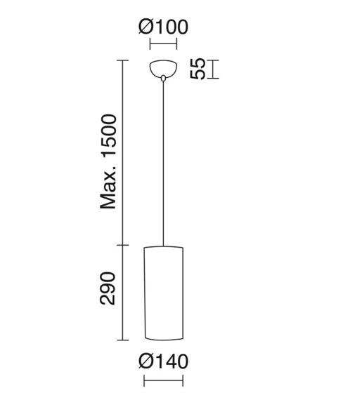 Zwis Selma 840B-G05X1A-56 Novolux Exo