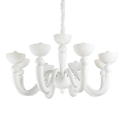Żyrandol BON BON SP8 094007 biały Ideal Lux