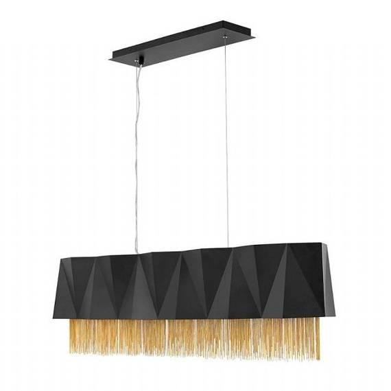 Żyrandol Elstead Lighting Zuma HK-ZUMA-ISLE-SBG Czarno Złoty