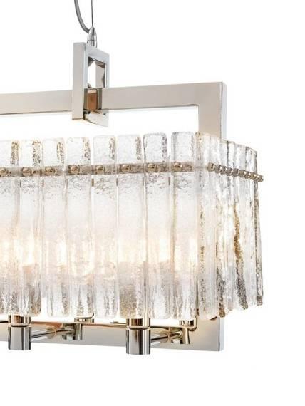 Żyrandol Szklany Berella Light Segna 10 BL1546