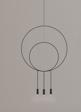 Estiluz Revolta R40.1S1D-M czarny Żyrandol