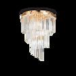 Lampa sufitowa Ideal Lux Carlton PL12 złota